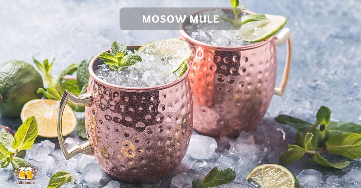 Mosow mule cocktial