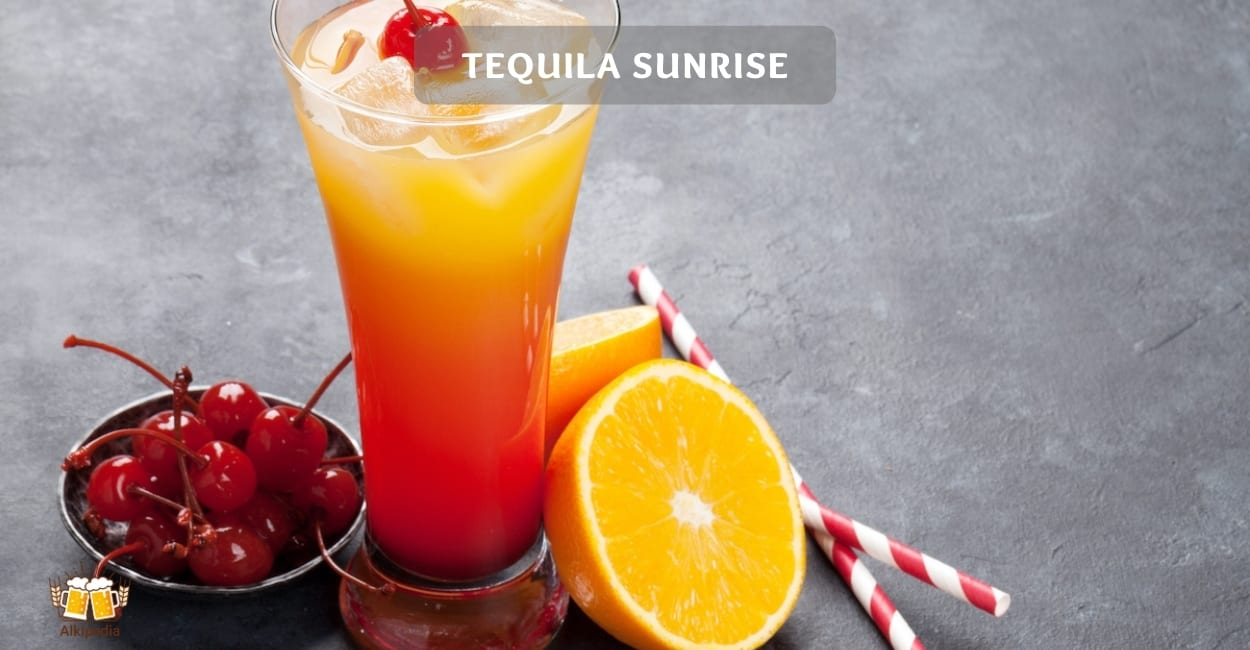 Tequila sunrise – party cocktail mit sommerfeeling pur