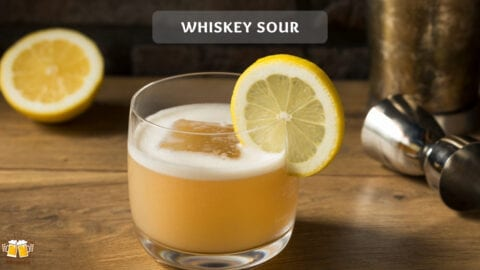 Whiskey Sour Cocktail - Der Ferrari unter den Cocktails