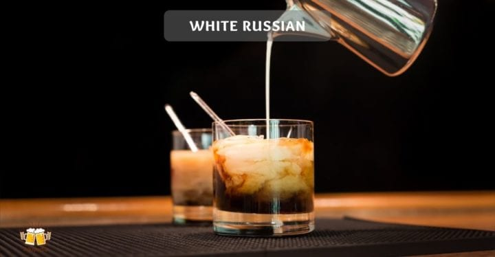 White russian cocktail rezept